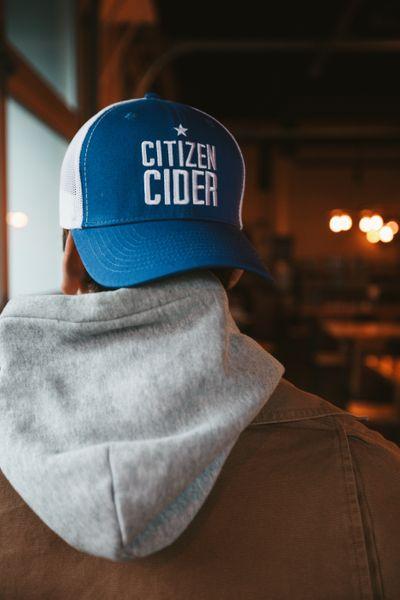 Citizen Cider Baseball Cap - Blue