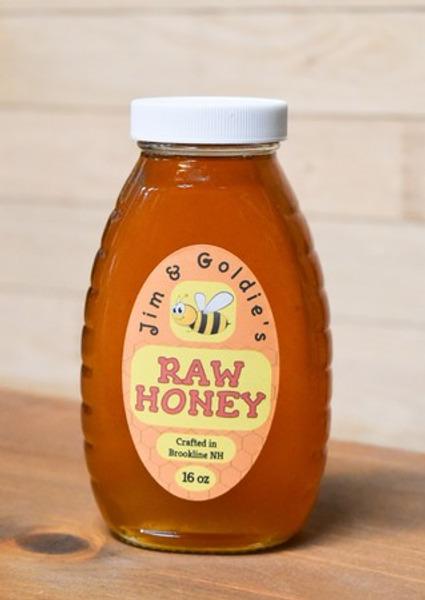Jim & Goldies Raw Honey