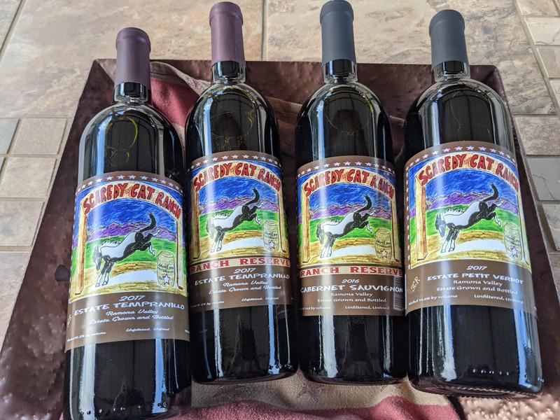 Scaredy Cat Ranch 4-Bottle Wine Pack