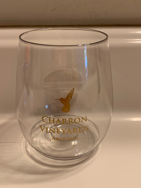Charron Acrylic Wine Glass