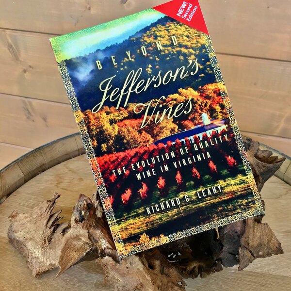 Beyond Jefferson's Vines paperback book