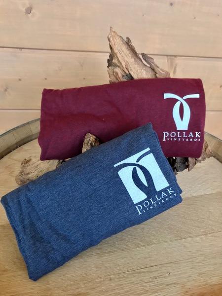 Pollak Vineyards logo Long Sleeve Shirt