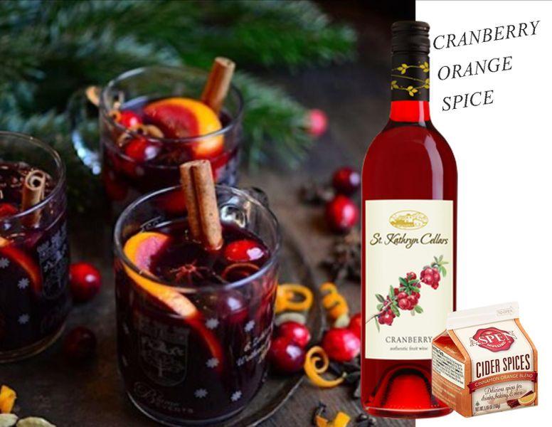 Cranberry Orange Spice Cocktail Kit