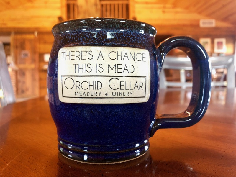 Product Image for Orchid Cellar Mug in
