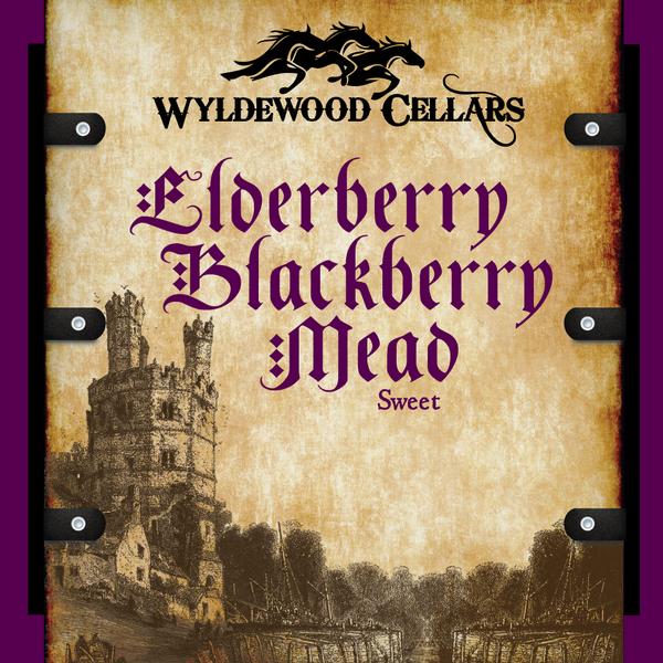 Elderberry Blackberry Mead