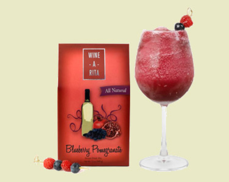 Blueberry Pomegranate Wine Slushy Mix