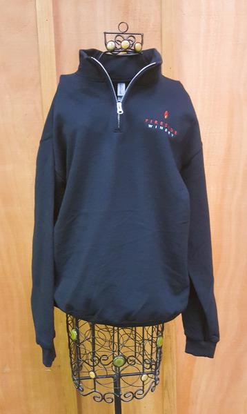 Fireside Quarter Zip Sweatshirt Medium