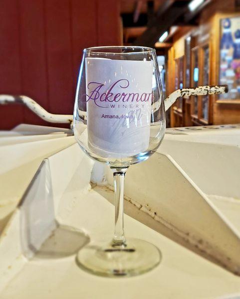 Ackerman Stemmed Wine Glass