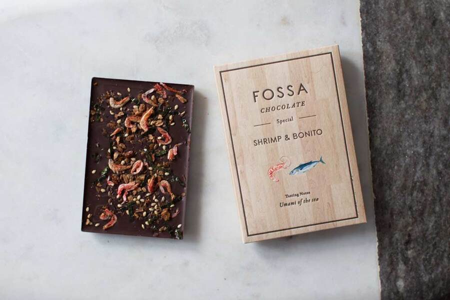 Fossa Chocolate Bonito and Shrimp