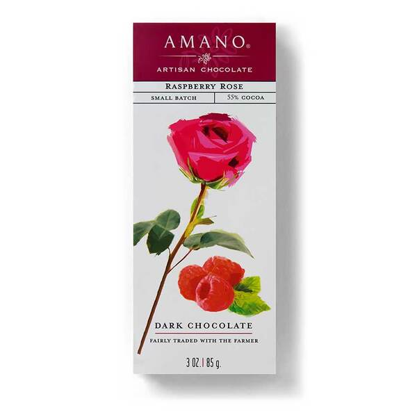 Amano Raspberry Rose Chocolate
