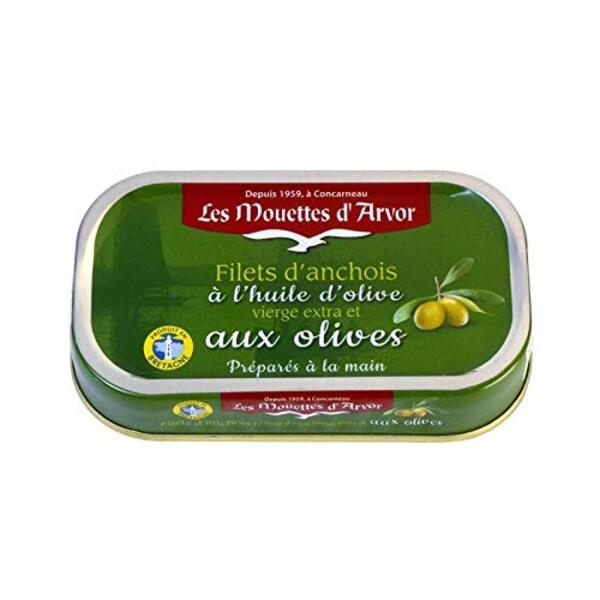 Anchovies in Olive Oil, Les Mouettes d' Arvor