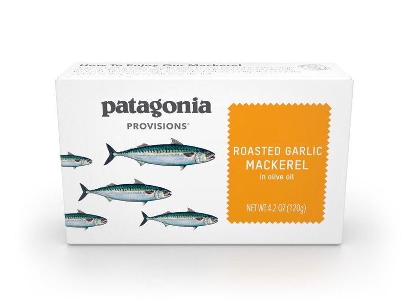 Roasted Garlic Mackerel, Patagonia Provisions
