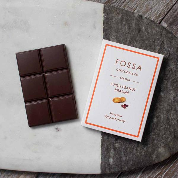 Fossa  Chocolate Chilly Peanut Praline