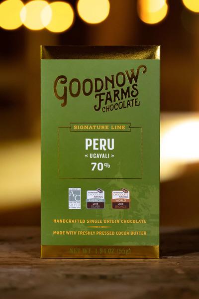 Goodnow Farms Ucayali 70% Dark Chocolate