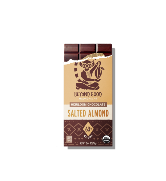 Beyond Good Salted Almond Chocolate Bar