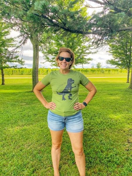 Green Winosaur Shirt- SMALL