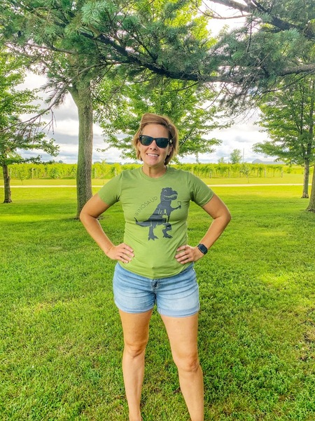 Green Winosaur T-Shirt LARGE