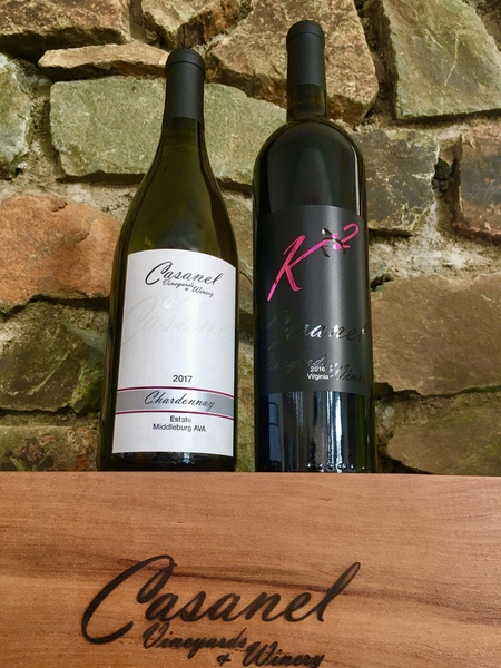 The Favorites: Chardonnay & K2 Red Blend Duo Pack