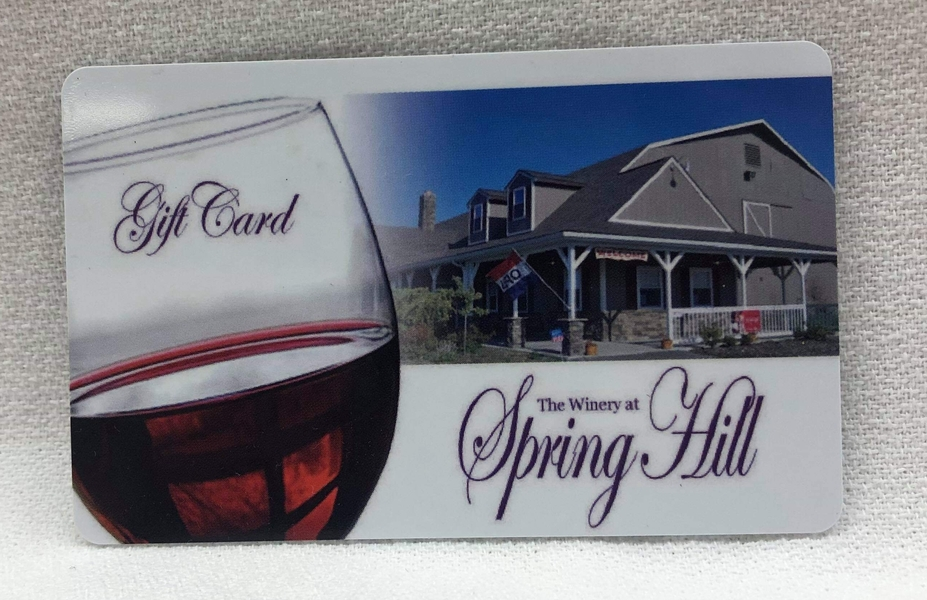 Product Image - Spring Hill Gift Card $25.00