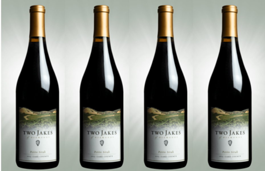 Two Jakes 2013 Petite Sirah Casemates 4 Pack Special