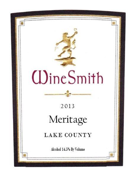 WineSmith 2013 Meritage 3 Pack