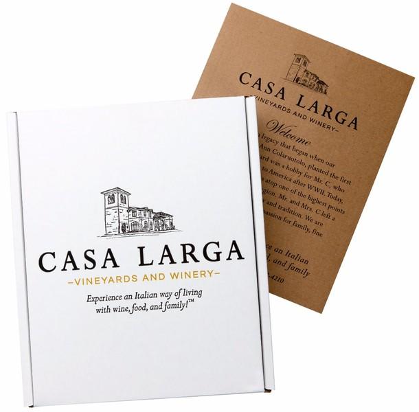 Casa Larga Three Bottle Gift Box