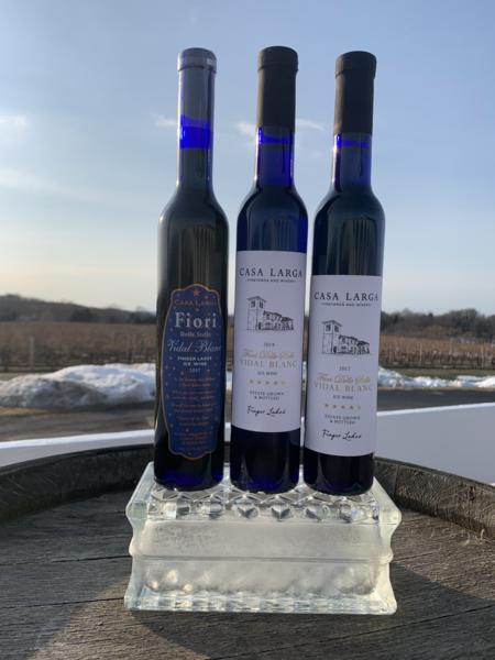 Fiori Vidal Blanc Ice Wine Trio