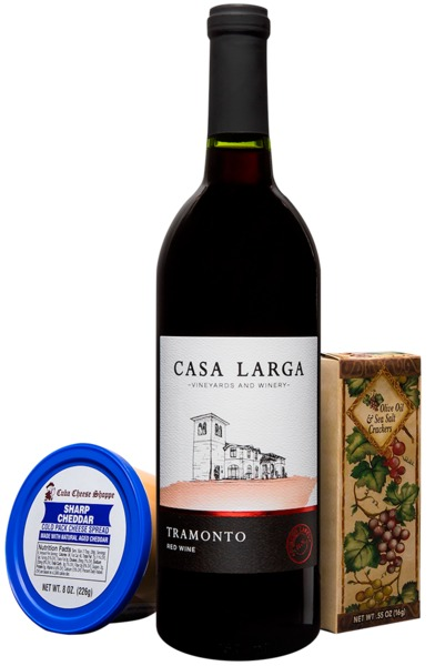 A Little Wine & Cheese- Tramonto