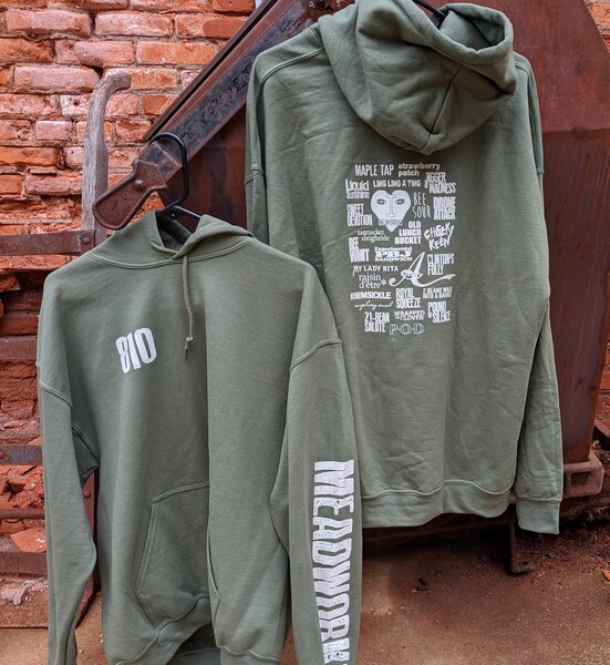Product Image for Olive Pullover Hoodie--Large