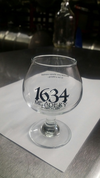 Product Image for 1634 Meadery mead glass