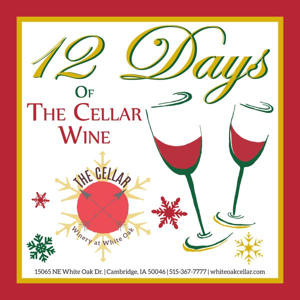 12 Days of The Cellar Wine